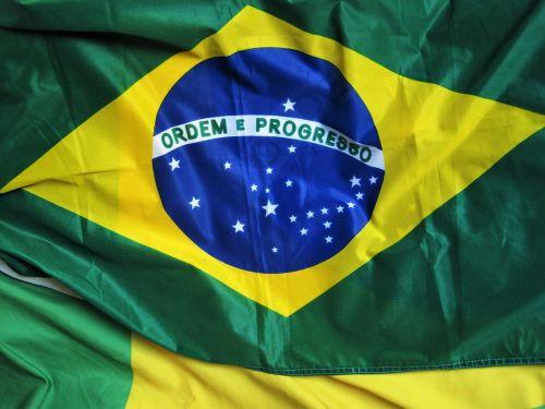 Brazilijos vėliava,ordem e progresso,olimpiadas brazilas,žalia-mėlynai geltona,Brazilija,futbolo fanų straipsniai,apdaila,Tautinė vėliava,vėliava,nacionalinės spalvos,landesfarben