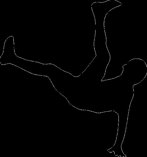 Breikas,dviračio smūgis,juoda,smūgis,siluetas,futbolas,nemokama vektorinė grafika