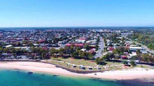 Bribie & Nbsp,  Sala,  Sala,  Australia,  Queensland,  Kranto,  Pakrantės,  Turistinis,  Turizmas,  Šventė,  Antena & Nbsp,  Vaizdas,  Drone,  Oro Vaizdas,  Aerial Fotografija,  Droneview,  Uav,  Bribie Island Queensland