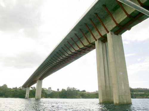 tiltas,ribadeo,inžinerija