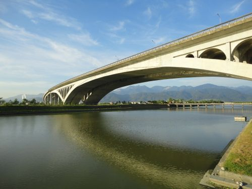 tiltas,Taivanas,upė