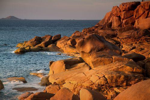 Brittany,Atlanto pakrantė,france,атлантический,kranto,saulėlydis,uolos pakrantė