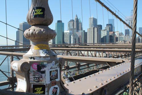 Bruklino tiltas,Niujorkas,usa,metropolis,Jungtinės Valstijos,didelis obuolys,Manhatanas,amerikietis,šventė,panorama,miestas,didelis miestas,pastatas