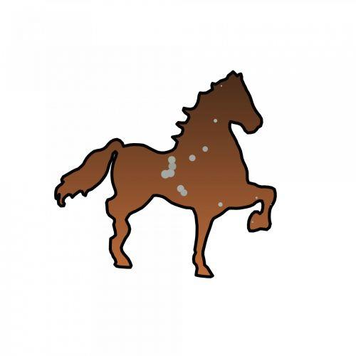 siluetas, piešimas, ruda, pusės & nbsp, peržiūra, izoliuotas, ieško & nbsp, toli, arklys, žinduolis, iškirpti & nbsp, iš, horizontalus, vaikščioti, ūkio & nbsp, gyvūnas, vienas & nbsp, gyvūnas, gyvuliai, stovintis, vienas, gyvūnas, rudasis žirgas