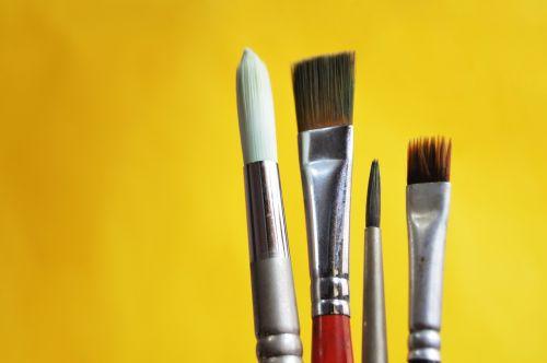 šepetys,dažymas,menininkas,šepečiai,spalvos,dailininkas,įrankis,naudojamas,komanda,kūrybingas,objektas,švietimas,menas,meno