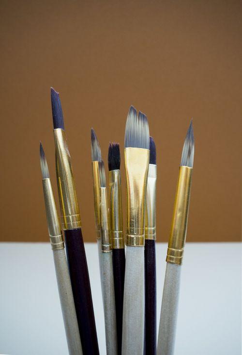 šepečiai,menas,dažyti,kūrybingas,šepetys