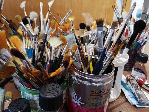 šepečiai visiems, aliejai ir terpės, liquin originalus, naftos šepečiai, akvarelė šepečiai, aistra