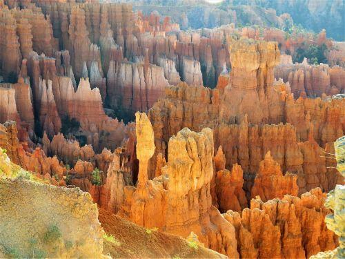 Bryce kanjonas,Utah,raudonasis smiltainis,žygiai