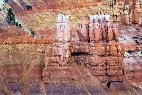 Bryce kanjonas,paunsaugutos plokščiakalnis,Utah,kraštovaizdis,Vakarų Usa,Gamtos stebūklai,Nacionalinis parkas,usa,Gorge,erozija