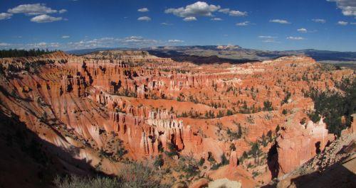Bryce & nbsp, kanjonas, fonas, fonas, Platus ekranas, nacionalinis & nbsp, parkas, Utah, amerikietis, gamta, spalvinga, brice & nbsp, kanjonas, tapetai, Bryce, kanjonas, Bryce kanjonas
