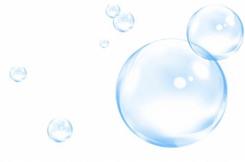 burbulas, burbuliukai, iliustracija, balta, fonas, burbuliukai