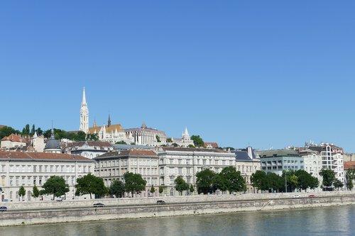 Budapeštas, Vengrija, statyba, Miestas, Dunojaus, upė, miestovaizdis, kapitalas, Turizmas, upių kruizų, žvejo bastionas, bažnyčia