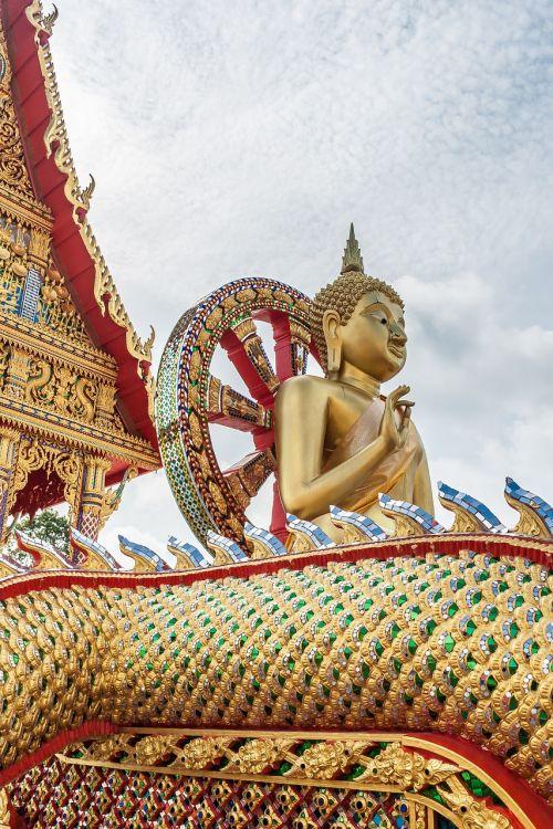 buda,Tailando budizmas,šventykla,asija,statula,auksinė buda,meditacija,figūra,tikėjimas,Tai buda,pattaya,paauksuotas,holzfigur