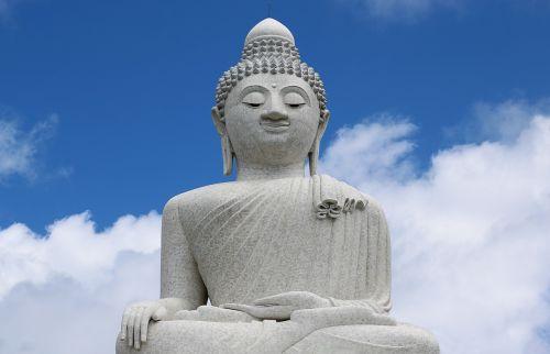 buda,phuket,didžioji budo buda,didžioji buda,Budos statula,statula,orientyras,Tailandas,budizmas,debesys,religija