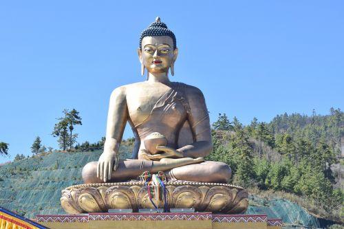 buda,statula,Butanas,Šalis,religija,budizmas,asija,šventykla,skulptūra,budistinis,kultūra,religinis,meditacija,zen,taikus,dvasinis,metalas,sėdi buda,didelis,didžiulė buda,dievas,taika,kelionė,dvasingumas,simbolis,ramybė,malda,atsipalaiduoti,architektūra