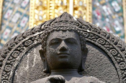 buda, Budizmas, Tailandas, Bankokas, buda vadovas, statula, Auksinis Buda, Religija, akmens skaičius, meditacija, skulptūra, dvasinis, Budos statula, medituoti, poilsio, vidinės ramybės, Serenity, atsipalaidavimas, Jam, išsiaiškinti, akmuo