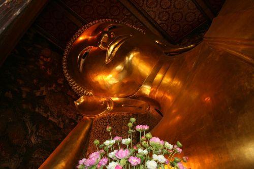 buda,gulėti buda,atsitraukiama buda,Bangkokas