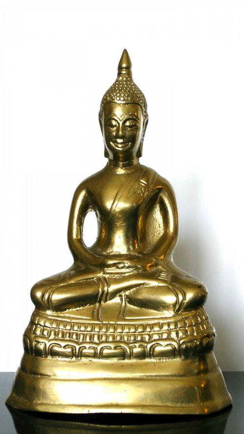 buda, statulėlė, budizmas, budistinis, religija, religinis, vienuolis, melstis, meldžiasi, malda, Budos statulėlė