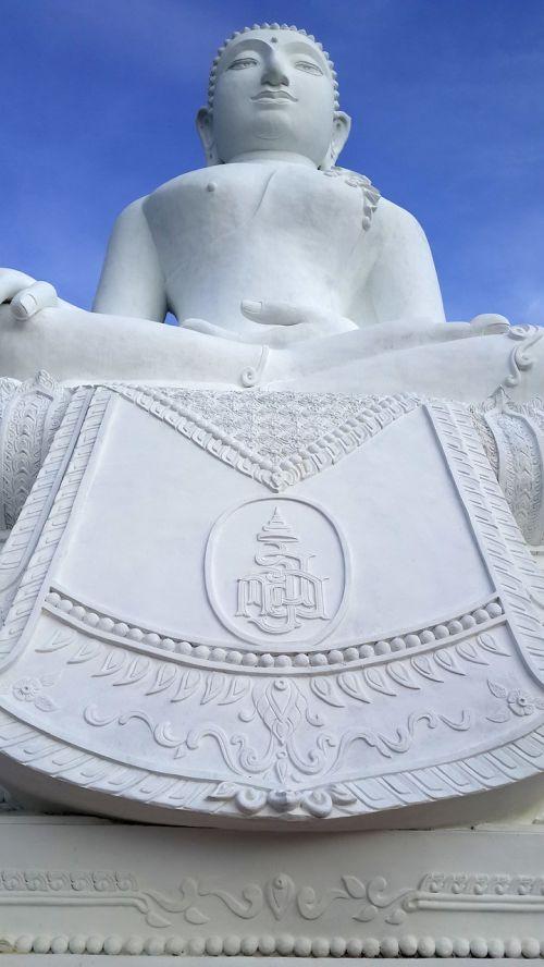 budizmas,buda,statula,religija,Pietryčių Azija,baltas statula,turizmas,didinga statula,Tailandas