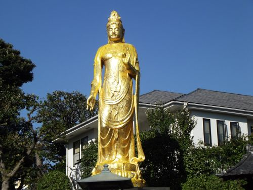 buda,statula,auksas,budistinis,šventykla,šventykla,asija,orientyras,budistinis,religija,Japonija,asian,japanese,senovės,kultūra,religinis