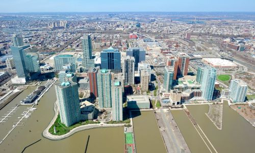pastatas,miestas,Džersis,architektūra,dangus,miesto panorama,centro,didmiestis,eksterjeras,dangoraižis,miesto,gatvė,scena,prieplauka,dokai,miesto miestas,panorama,vanduo,kranto,dockside,prieplauka,Naujasis Džersis