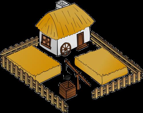 pastatas,žemėlapis,ūkis,žaisti,vaidmuo,pasėliai,šlovė,žaisti,nemokama vektorinė grafika