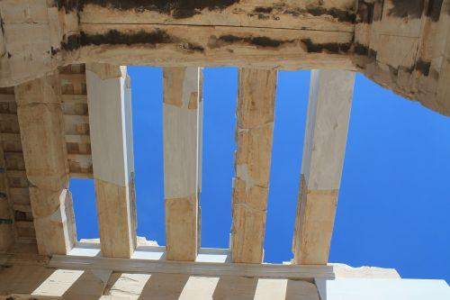pastatas, mėlynas dangus, mėlynas, saulės šviesa, sol, medžio dirbiniai, menas, kultūra