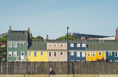 pastatai,spalvinga,spalvinga,tvora,vyras,asmuo,dangus,vaikščioti
