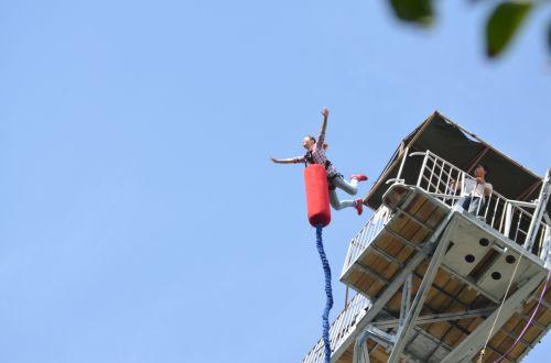 kitas, šokinėti, bungee, bungee & nbsp, šokinėja, jaudulys, panika, jaudulys, pavojus, šokinėjimas guma