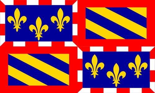Burgundija,vėliava,regionas,provincija,france,Prancūzų kalba,nemokama vektorinė grafika