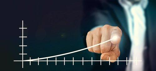 verslininkas, kontrolė, sėkmė, statistika, pristatymas, produktyvumas, pelno, kreivė, sėkmės kreivė, nukreipti, planavimas
