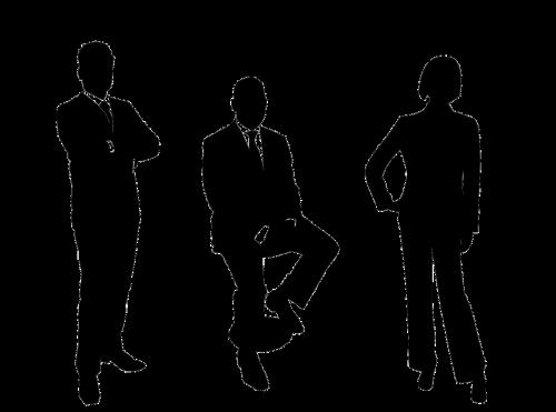verslininkai,grupė,siluetas,verslo žmonių grupė,žmonių grupės,verslininkė,verslininkas,komanda,verslas,komandinis darbas,sėkmė,sėkmingas,darbuotojų grupė,vadybininkas,nemokama vektorinė grafika