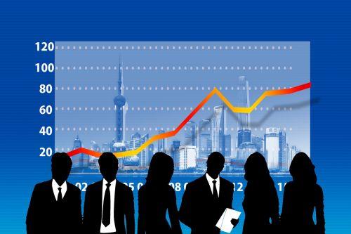 verslininkai,statistika,sėkmė,kreivė,sėkmės kreivė,siluetai,verslininkas,rajonas,strėlės,pristatymas,verslas