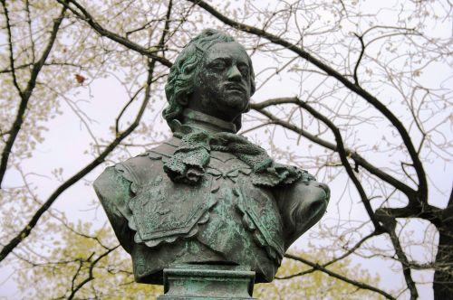 statula, biustas, galva, monarchas, peter & nbsp, l, puiku, Petro didžiojo kunigaikščio biustas