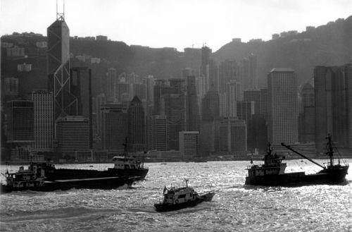 uostas, eismas, Viktorija & nbsp, uostas, Honkongas, valtys, laivas, laivai, užimtas uostas