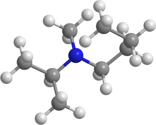butanamina,organinė chemija,aminai,molekulės