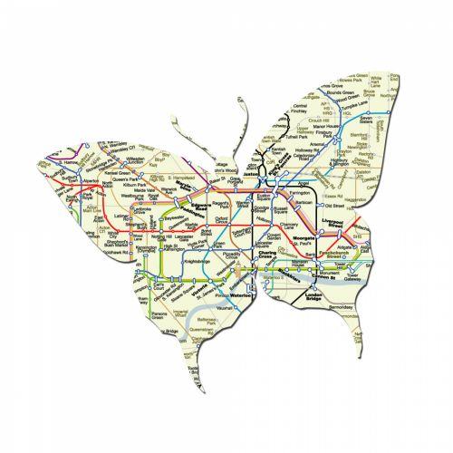 drugelis, Londonas, po žeme, žemėlapis, vamzdis, Londonas & nbsp, po žeme, motyvas, simbolis, lipdukas, izoliuotas, balta, fonas, Laisvas, viešasis & nbsp, domenas, butterfly london underground map
