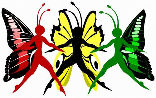 drugelis, fantazija, spalvos, gyvūnas, iliustracija, vabzdys, menas, meno kūriniai, šiuolaikiška, kūrybiškumas, išraiška, drugelis moteris