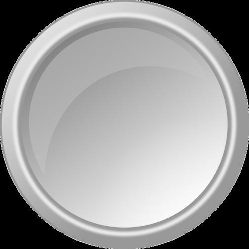 mygtukas,blizgus,apvalus,ratas,šviesiai pilka,pilka,pilka,balta,nemokama vektorinė grafika