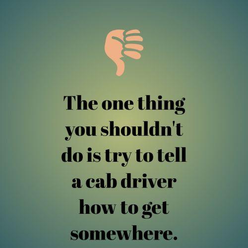 Taksi, vairuotojas, absurdas, klausimas, kaip, eiti, ten, tekstas, pranešimas, kažkur, žalias, fonas, nykštukė & nbsp, žemyn, kabinos vairuotojas absurdiškas klausimas