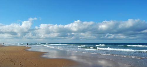 Kadisas,conil,papludimys,Andalūzija,costa,kraštovaizdis,vasara,jūra,laisvalaikis,smėlis,pėdsakai,debesys,jūros pakraštis,paplūdimio smelis,Krantas,vaikščioti,gamta,basas,šventė,smėlio paplūdimys Smėlėtas paplūdimys,protektoriai