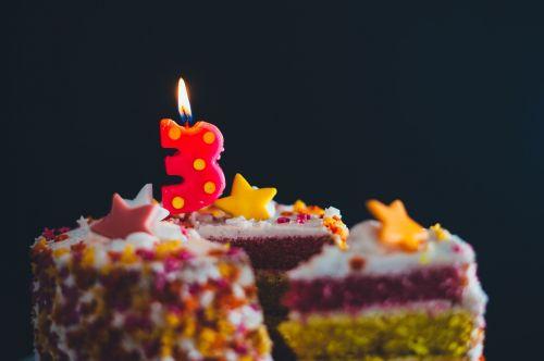 Tortas, Žvakė, Spalvinga, Spalvinga, Desertas, Maistas, Kepiniai, Purškiamos, Saldus