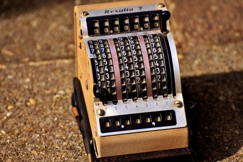 skaičiavimo mašina,rezultatas,senas,Senovinis,senas abacus,Rezultatas 7