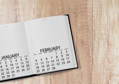 kalendorius,knyga,2018,data,metai,diena,savaitę,savaitės dienos,stalas,darbotvarkė,stalas,Pastabos,nešiojamojo kompiuterio,Atverskite knygą,sausis,vasaris,puslapiai,popierius,juoda,ruda,biuras,darbas,darbas,verslas,mokykla,daryti,užduotys,išsaugoti datą,įveskite,palikti,datas,tvarkaraštis,planą,Naujųjų metų diena,pavedimai,konferencija,derybos,švietimas,atviras,studijuoti,tvirtovė,simbolika,dekoratyvinis,skaityti,universitetas,šablonas,žinoti
