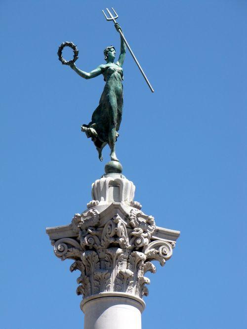 Kalifornija,San Franciskas,turizmas,statula,simbolinis,paminklas