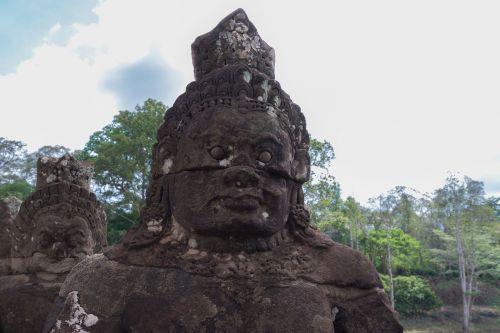 Kambodža,Angkor,angkor wat,skulptūra,šventyklos kompleksas,Khmer