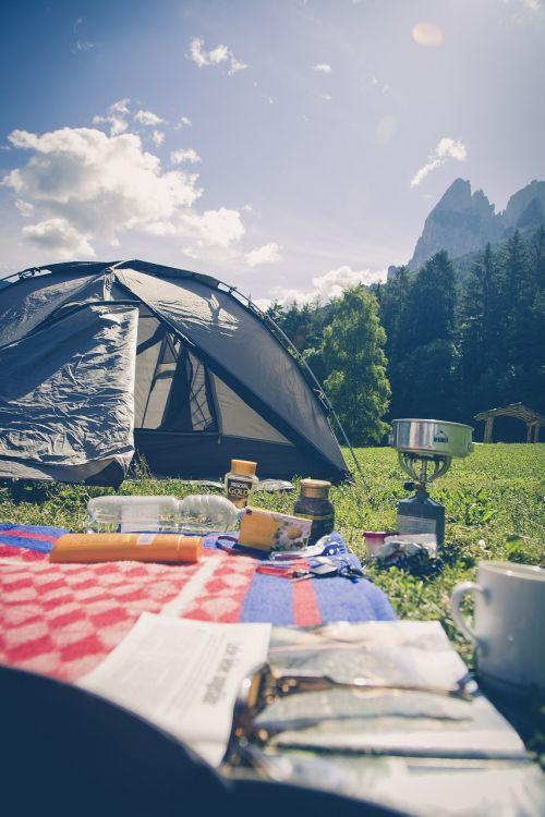 kempingas,stovykla,gamta,šventė,lauke,kempingų atostogos,romantika,kraštovaizdis,turistai,South Tyrol,schlern,Alpių,žygis,kalnų takas