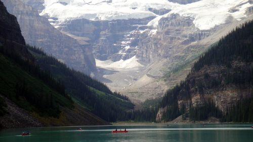 Kanada, upė, vaizdas, ežeras, gamta, kalnai, žmonės, atsipalaiduoti, plaukiojimas, medžiai, vanduo, Kanada