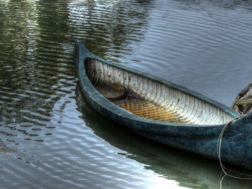 valtis, prijungtas, mėlynas, vanduo, žalia ir vanduo, kanalas, Venecija, ca, eilutė & nbsp, valtis, kanojos formos formos, tuščias & nbsp, valtis, medinė & nbsp, valtis, kanalo valtis
