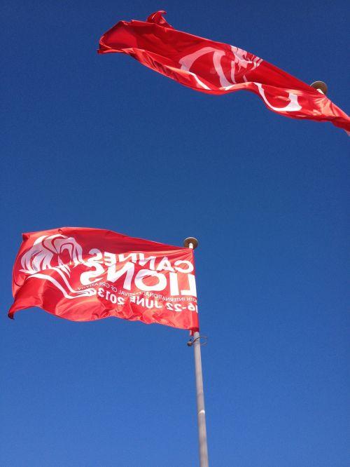 cannes,kūrybingas,vėliava